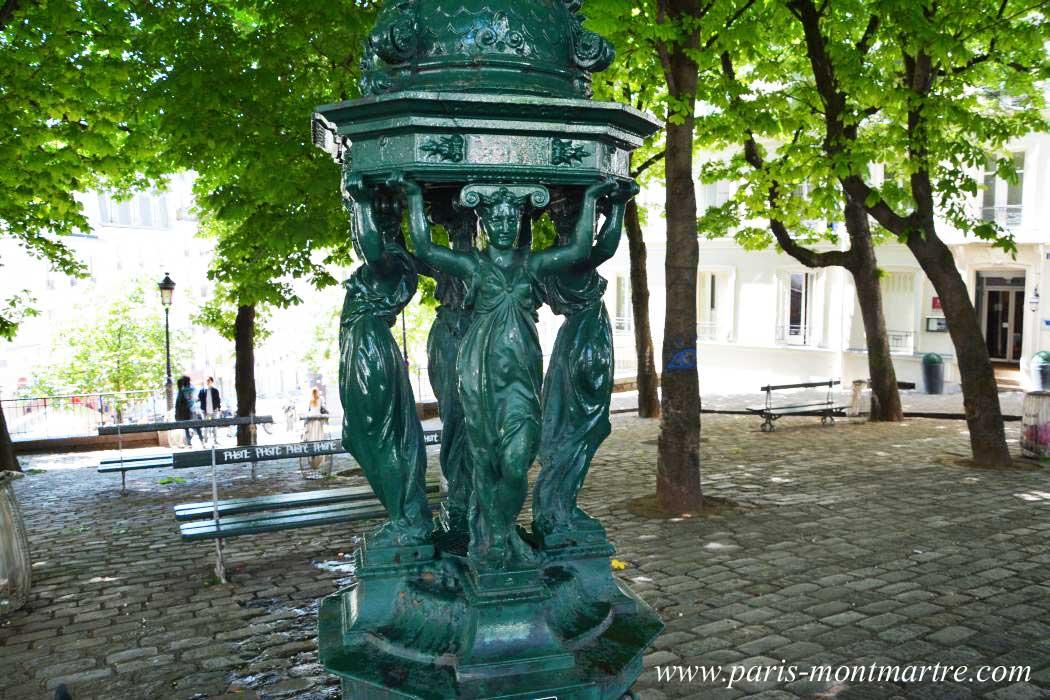 fontaine-wallace-montmartre-place-goudeau